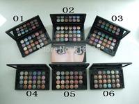 Brand name mc 24 Colors Make Up Eyeshadow Palette Hot sale  shining eye shadow  with M logo