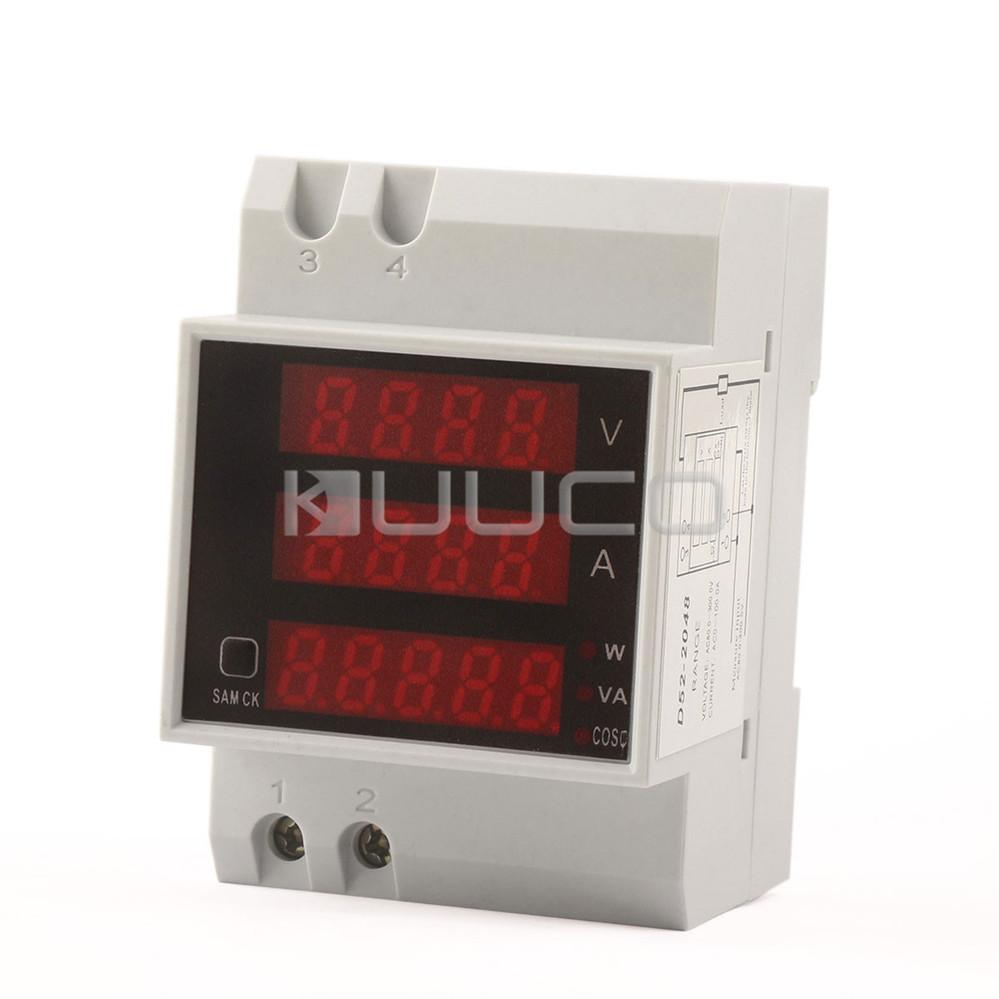 Вольтметр Digital Voltmeter 5 1 Power Meter