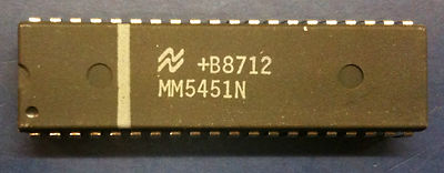 National Semiconductors MM5451N LED Display Driver DIP40 MM5451(China (Mainland))