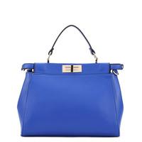 Free shipping Hot Brand Korean fashion woman handbags cat kitten bag female tote bag blue plain leather shoulder cross body bag