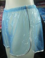 2  pcs NEW Comfortable Sports shorts PVC Fetish #P018-6T
