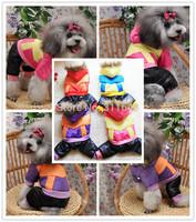 Best Quality Sports Dog Winter Jumpsuit Pet Warm Jacket Fashion Dog Clothes Puppy Apparel Doggie Skisuit  CC2013w29