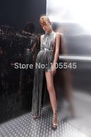 New 2014 fashion Women sleeveless sexy Ladies evening Party Dress