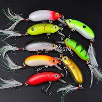 "Top Fishaing Lures 40pc/lot  Exported to USA Market Fishing Tackle 0.362oz-/10.27g/2.5""-6.35cm Fishing Bait Retail Box FreeShip"