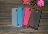 In stock Soft TPU Gel Back case Cover For lenovo a536 A358T phone Cases Free Shipping