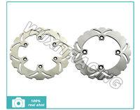 Front + Rear Brake Disc Rotors For HONDA CB PC32 H418 500 XRV AFRICA RD03 E867 650 CB 750 RC42 G035 GAGIVA ELEFANT 900