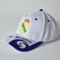Free shipping high quality real madrid caps embroidery AC Milan sport hats Football Souvenirs factory direct wholesale