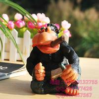 Creative cute cartoon animals,zakka orangutan monkey piggy bank,accumulator tank birthday gift,free shipping