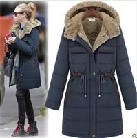 Winter Fur Coat Women Jackets Plus Size Clothes Woman Ladies Female Warm Women's Cotton Coat Jackets and Coats Clothes With Fur