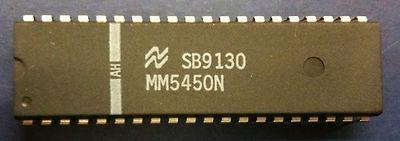 National Semiconductors MM5450N LED Display Driver DIP40 MM5450(China (Mainland))