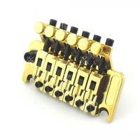 Electric guitar accessories alloy tailpiece double shake tremolo system is solid string electric guitar tremolo bridge