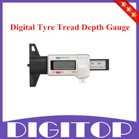 Best Quality Digital Tyre Tread Depth Brake Pad Break Gauge Caliper 0~25mm Free Shipping