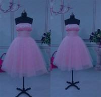 WLF116 DreaMaker Pink Prom Dress Short Prom Dresses Girls Party Elegant Ball Gown Evening Dresses vestido de noite 2015