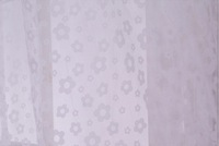 (W)3M*(H)2.7M/lot white organza sheer curtains tulle finished living room gauze free shipping