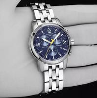 GUANQIN Automatic mechanical watches men watches Glow waterproof fine steel watch luxury upscale men's