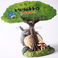 Totoro Anime Cartoon Miyazaki Hayao Calendar PVC Action Figure Collection Toy Doll
