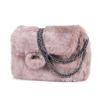 2014 New Fashion European and American Lolita Style Pure Plush Chain Shoulder Bag Diagonal Handbags Free Shipping 31260