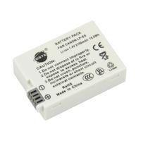 DSTE LP-E8 Replacement Li-ion Battery Pack for Canon EOS 550D, 600D, 650D, Kiss X4, Kiss X5