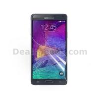 50 PCS/LOT-Clear Anti-Glare Ultra Clear LCD Guard Film Screen Film for Galaxy Note 4 SM-N910S SM-N910C (100PCS/LOT)