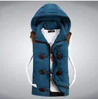 Men 2014 down jacket colete masculino waistcoat military veste homme winter fishing vest male sleeveless jacket clothing 8921