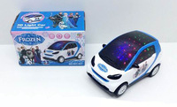2015 new retail Frozen 3D light Electric vehicle/kids Elsa Anna Musical toys/Snow Queen Educational toys,15.5*9*9.5cm