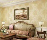 European high-grade 3D Damascus stereoscopic environmental non-woven wallpaper 0.53m*10m=5.3SQM