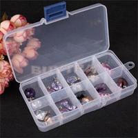 Brand Designer Mini Storage Box Bins for Jewelry Portable Cheap Plastics Beads Organizer Drop Shipping Adjustable boxes