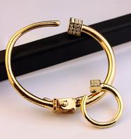fashion women VT High quality crystal bangle for women  cuff bracelet  ring wholesale