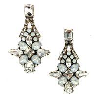 Top quality 2014 New statement fashion women crystal stud Earrings for women girl party wedding earring women gift wholesale