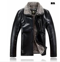 hoody outdoor jacket brand jacket leather men men's winter jacket leather fur natural fur coats and jackets for men M-5XL