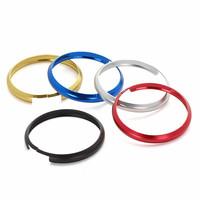 Fashion Black Aluminum Smart Key Fob Ring Rim Trim Cover Replacement for Mini Cooper R55 R56 R57 R58 R59 R60