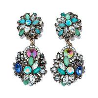 2014 New Z statement fashion Z A  stud Earrings for women girl party earring Factory Price earring