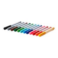 12 pieces multicolor felt pens