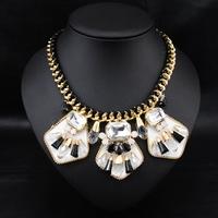 Wholesale Fashion Jewelry Vintage Costume Women Bijoux Collars Statement Choker Necklace