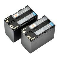 DSTE 2PCS BP-970G Li-ion Battery Pack for Canon XLH1, XHG1, XHA1, XL2, XM2, XF305, XF300, XF105, XF100