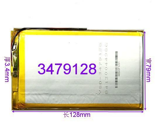 MID Tablet PC handheld navigator large-capacity lithium polymer battery 3479128 A genuine universal(China (Mainland))