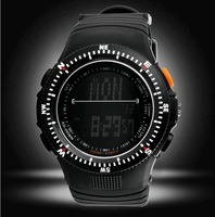 Skmei LED Sports Watch Scale dial digital silicone Watch direction letter dial wristwatches Dropship military watch ample order