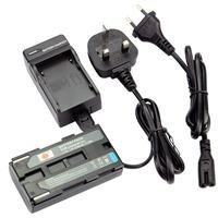 DSTE BP-915 Li-ion Battery Pack and UK & EU Plug Charger for Canon ES300V ES-300V ES410V ES-410V ES4000 ES-4000 UC-X2Hi