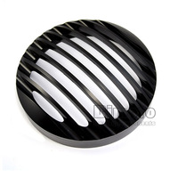 """BJ-HGC-001 5 3/4""""Aluminum  Headlight Grill Cover For Harley Sportster XL883/1200 04'-UP Softail"""