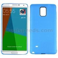 50PCS /LOT Dream Mesh Pattern Durable TPU Cover for Galaxy Note 4 SM-N910 SM-N910F SM-N910X