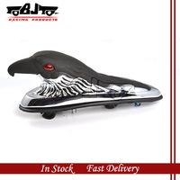 BJ-LPL-021 Chrome &Black  Motorcycle Eagle Head Ornament Statue For  motorbike ATV  Front Fender  Frames & Fittings Car Bonnet