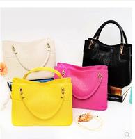 2014 new handbag portable shoulder messenger bag European and American fashion retro leather shell bag B14106