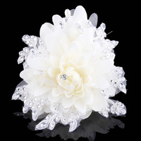 Juan beautiful upscale fashion yarn Korean side clip bridal headdress