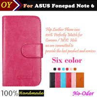 Case For ASUS Fonepad Note 6 ME560 ME560CG 6inch Fashion Vintage 6 Color Luxury Stand Wallet Flip Leather Case Phone Bag Cover