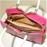 2014 fashion handbags sweet lady v word stereotypes compiled Korean fashion retro handbag shoulder bag