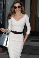Free shipping White Belted Pencil Midi Dress V-neck long sleeve zipper fashion working women dress fashion dress