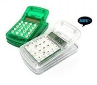Free Shipping 1 Piece New Mini Magnetic Multi-function Clip Calculator #6278