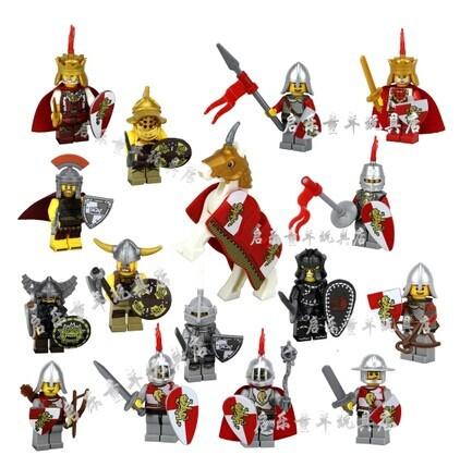 Castle Figures Toys Figures Minifigures Toys