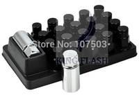 2014 Hot Sales 20 pcs Aluminum 50MM Length Wheel Extended Lug Nut Black 6336