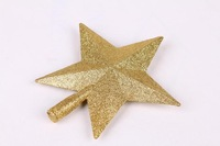 FREE SHIPPING!!!Christmas decorations, Christmas tree ornaments, dusting the three-dimensional tree top stars
